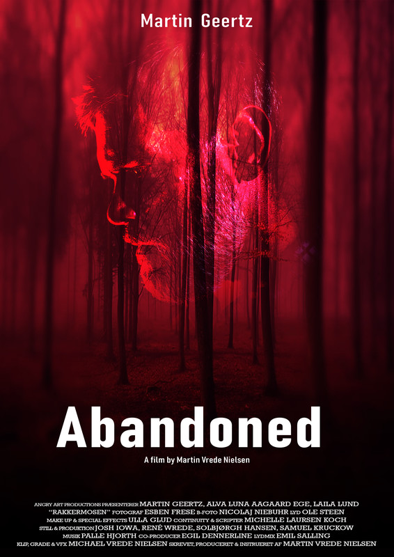 movie poster - Abandoned