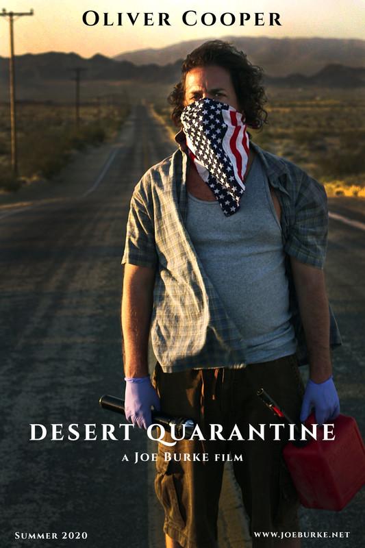 movie poster - Desert Quarantine