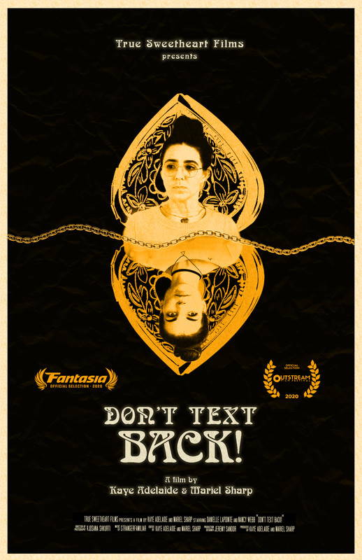 movie poster - Don't Text Back