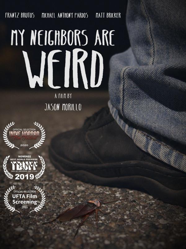 movie poster - My Neighbors Are Weird