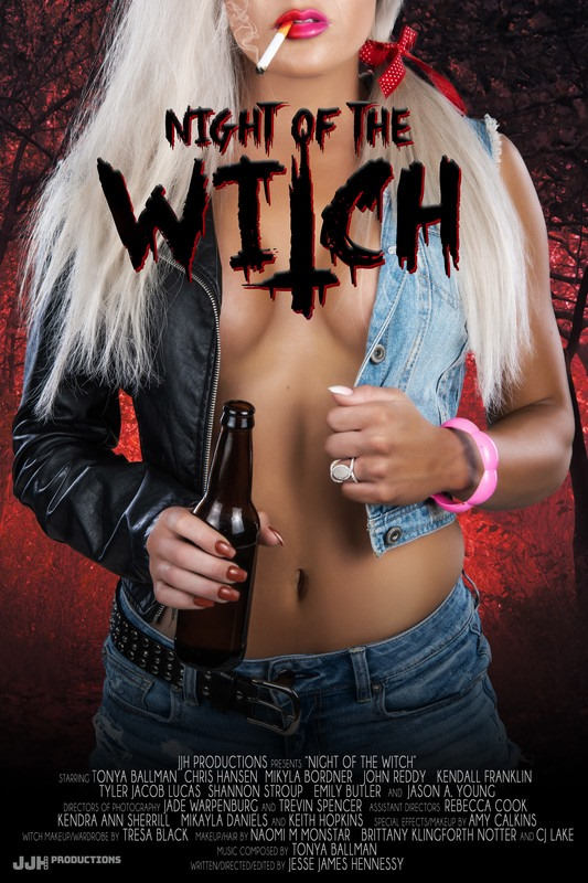 movie poster - Night of the Witch