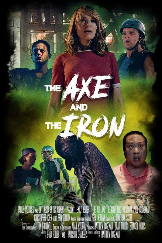 movie poster - The Axe and Iron
