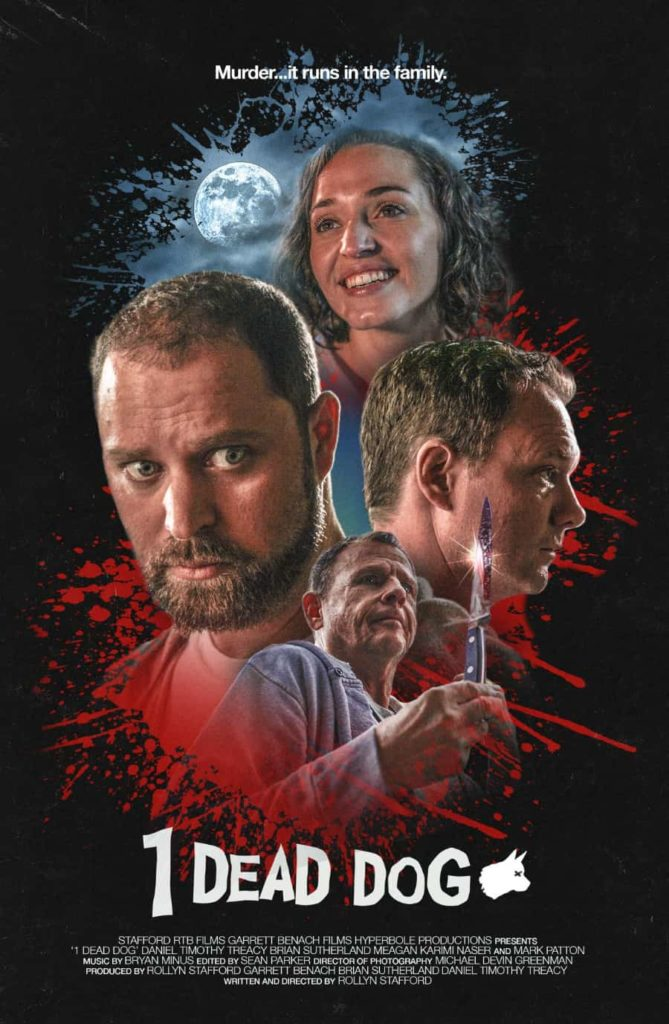 movie poster - 1 Dead Dog